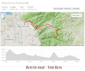 Route Map - The Run